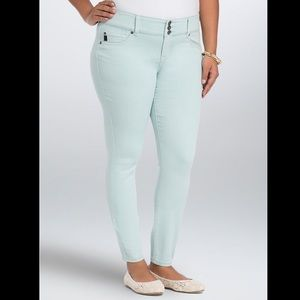 Torrid Mint Green Jeggings Skinny Jeans